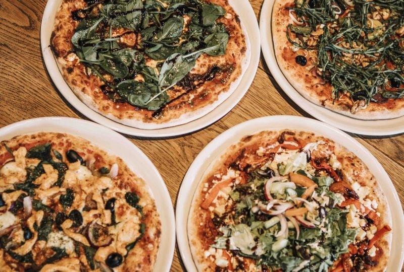 four-pizzas
