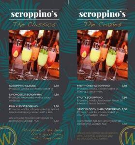 Scroppino's op dinsdag bij WOODSTONE Alphen